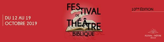 Festival de Théâtre Biblique 2019